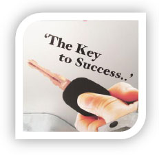 Key to success logo