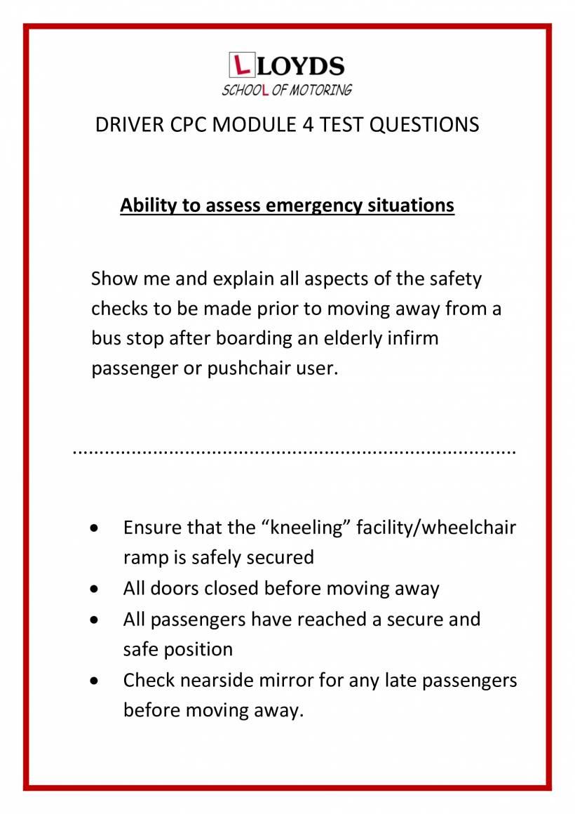 Driver-Cpc-Module-4-Bus-Test-Questions